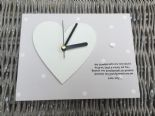 Shabby personalised Gift Chic Clock Special Great Grandparents Present Nanny